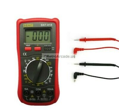Senit Voltmeter Ohmmeter Ammeter Multimeter OHM DC AC Voltage Current Tester +