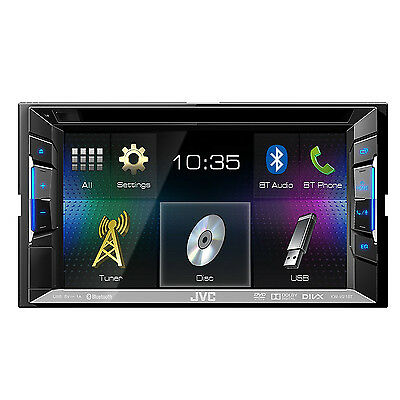 jvc kw v21bt moniceiver 2 din dvd cd usb receiver bluetooth autoradio b ware eur 180 00. Black Bedroom Furniture Sets. Home Design Ideas