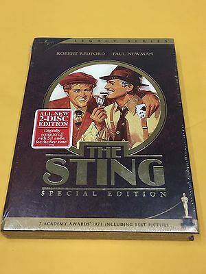 The Sting (DVD, 2005, 2-Disc Set, Special Edition) Brand New Sealed
