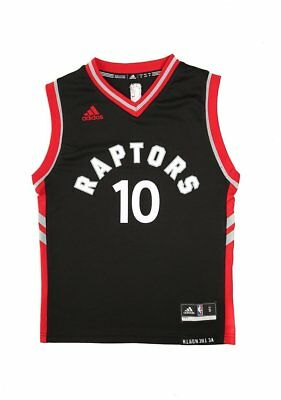 New Youth Adidas Adidas Raptors Replica Road Youth Jersey Derozan 10 Black Tops