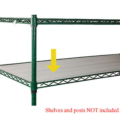 "Winco VM-1860 Shelving Mat 18"" x 60"", 0.75 mm"