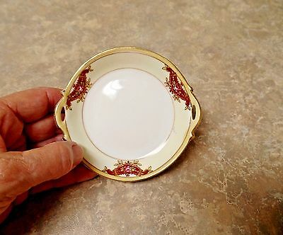"""Hand Painted """"Nippon"""" Butter Pat, 3.75"""""""