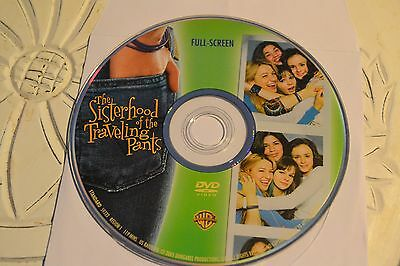 The Sisterhood of the Traveling Pants DVD, 2005 Full Screen Disc Only 11-109