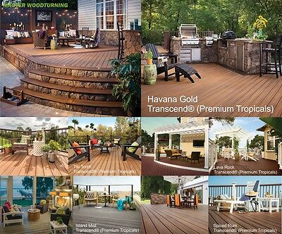 TREX Composite Decking - Grooved Edge - Worlds #1 Decking Brand - 4.88m or 6.1m