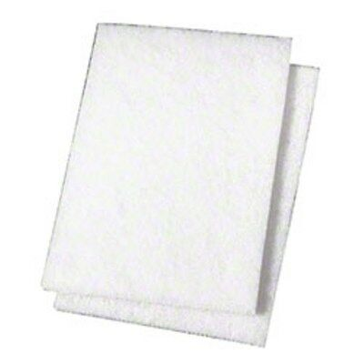 Spare Arm-Aching Agony -- 3M 98N 3M White Scrub Pads (20/cs) -- Blasts It Faster