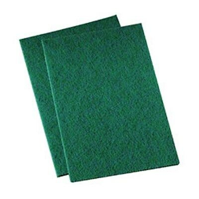 3M 96N Green Scrub Pads (20/cs) -- Blasts Nastiest Crud Way, Way Faster