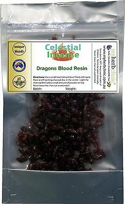 Dragons Blood Resin Premium Incense ~ 30G All Natural Gift From The Earth