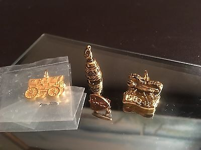Women Of The Moose Fraternal Pins Charms Lot Vintage Estate Find