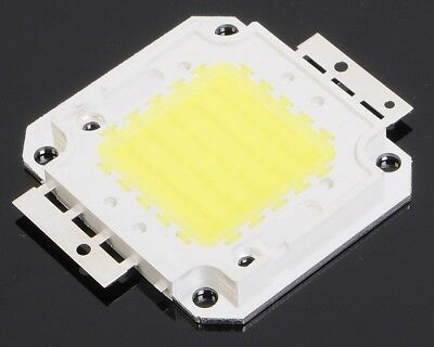 50W 6000-6500K COB LED Lamp Light SMD Bead Chip White 4500-5000LM for Projector