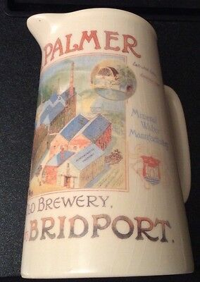 English Pub, J.C.&R.H. Palmer. Bridport. Water Jug-Diamond Concept Ceramics
