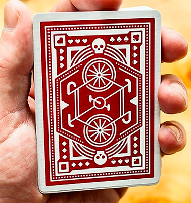 Red Wheel Playing Cards Deck by Art of Play and Murphy's Magic