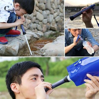 New Portable Personal Water Filter Purification System Survival Portable Outdoor