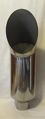 """Ford Powerstroke Polished Stainless 5"""" Id 10"""" Od 36"""" L Diesel Exhaust Cat Stack"""