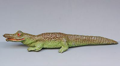 CHARBENS - HOLLOWCAST LEAD ZOO ANIMALS - CROCODILE (Pre-war Version) ...!!