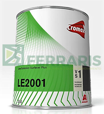 LE 2001 Dupont Cromax surfacer for paint body car primer white painting 3,5 LT