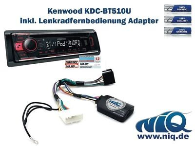 kenwood kdc bt510u inkl lenkrad fernbedienung adapter bmw. Black Bedroom Furniture Sets. Home Design Ideas