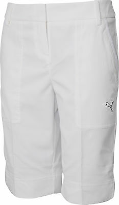 Puma Tech Ladies Golf Shorts - White