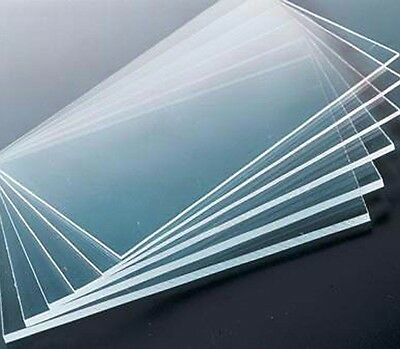 Clear 5mm Acrylic Perspex Sheet Custom or Cut To Size,  Engravable