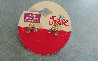 justice A earrings