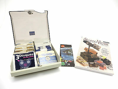 "98 Viewmaster View Master Reels + Stereo Views"" von John Waldsmith + Box  is034"