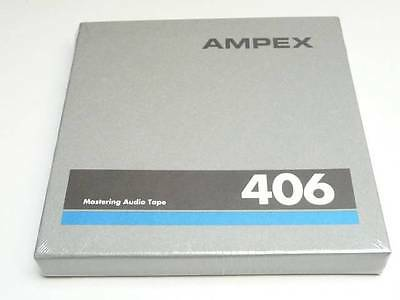 "Ampex 406 1/4"" Magnetic Mastering Audio Tape 5"" Reel 600 Feet (New)"