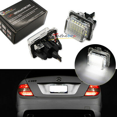 GP Xtreme License Plate Lamp No Error LED SMD Mercedes Benz W204 W207 W212 W216