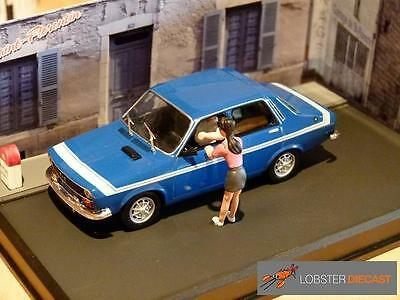 RENAULT 12 GORDINI  'LA ROUTE BLEUE' Diorama 1/43 scale model