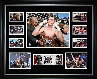 Jeff Horn v Manny Pacquiao Limited Edition Framed Memorabilia