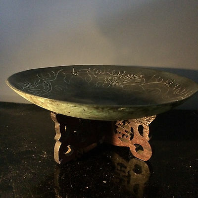 Antique Witchcraft Occult Offering Bowl Murgatroyd Witches Fred Gettings