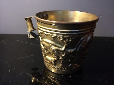 Antique Witchcraft Greek Cretan Cup Murgatroyd Witches Fred Gettings