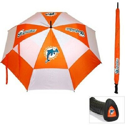 NFL Miami Dolphins 62-Inch Double Canopy Golf Umbrella. …
