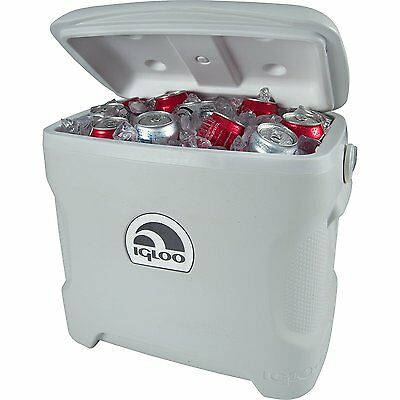 Large Wheeled Travel Cooler Cold Water Storage Camping Party Box Outdoor Ice New