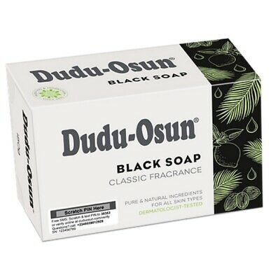 4 x Dudu Osun African Black Soap 150g For Eczema Acne Fungus (4 PACK)