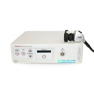 Stryker 1088 Hd Endoscope Camera System (With Console), Tested, 30 Days Warranty