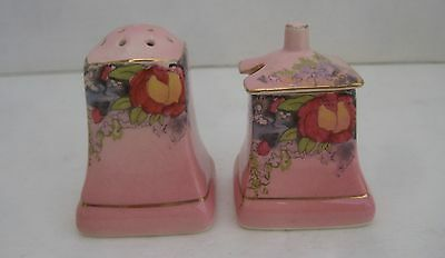 Royal Winton Grimwades Mustard Pot & One Shaker Salt or Pepper Pink with Flowers
