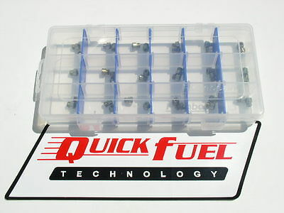 NEW GAS QUICK FUEL HOLLEY JET KIT 83-100 4 EACH IN CASE free usa shipping
