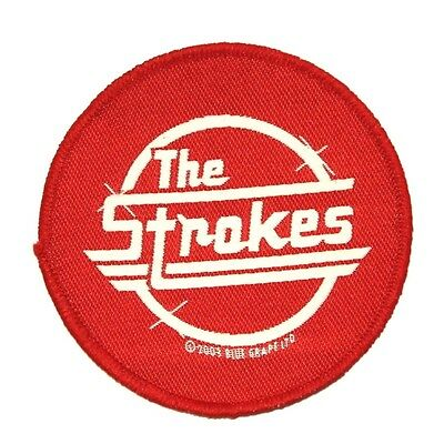 """""""The Strokes"""" Band Logo Rock Music Apparel Merchandise Sew On Applique Patch"""