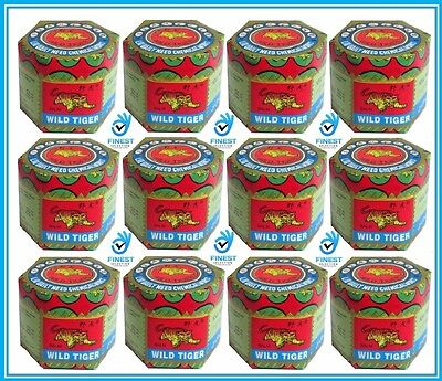Wild Tiger Balm 18 G Jar/pot Body Pain Relief For Muscular Joint & Aches