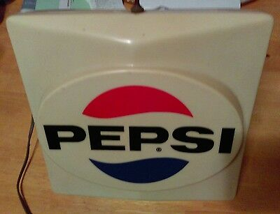 * * Pepsi Cola Old 3 D Lighted Sign * *