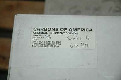 "Carbone America Graphilor Series 6"" 40 PSIG Burst Rupture Disc 28700 SCFM - NOS"
