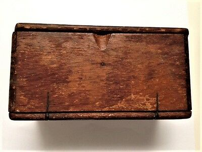 Antique Singer Sewing Kit Puzzle Box ~ Oak ~ Patent Date 1889