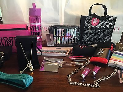 Victoria's Secret PINK Mixed Accessories Wholesale Lot Water Bottle Socks Totes