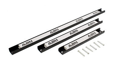 """ABN Magnetic Tool Holder 3-Piece Set 8"""" 12"""" 18"""" Inch Strips with Mounting Screws"""