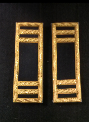 Civil War Union Officers Fed. Blue Shoulder Boards ~ Free Shipping