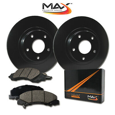 2004 Fit Subaru Forester 2.5X/2.5XS Black OE Rotors w/Ceramic Pads F