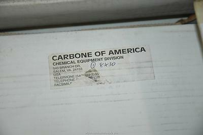 "2 Carbone America Graphilor Series 3 8"" 30 PSIG Burst Rupture Disc 39500SCFM NOS"