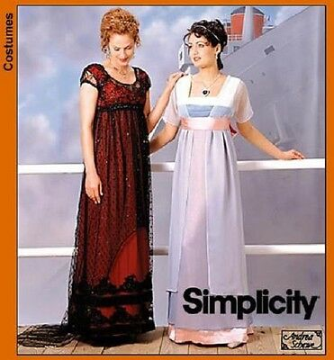 SIMPLICITY 2573 OOP Misses /'Princess Lily from Legend/' Schewe Costume Pattern