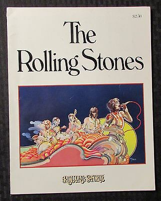 1975 THE ROLLING STONES by Rolling Stone Magazine VG+ 4.5 Straight Arrow PPB 96p