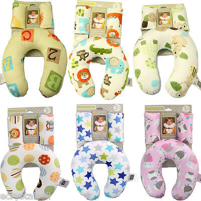 US Infant Newborn Baby Anti Roll Pillow Sleep Prevent Flat Cushion Positioner