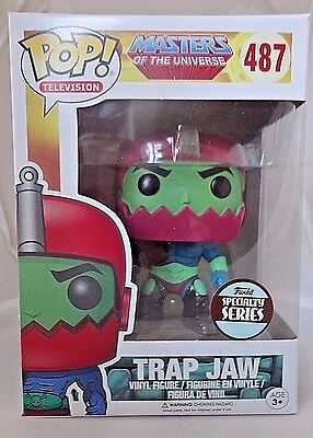 TRAP JAW 487 Funko SPECIALTY SERIES POP! vinyl figure New In Package RARE